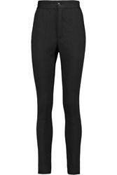 Dolce And Gabbana High Rise Skinny Jeans Black