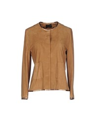 Atos Lombardini Suits And Jackets Blazers Women Brown