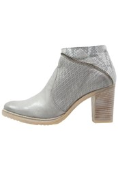 Mjus Marcella Ankle Boots Iceberg Bianco Light Grey