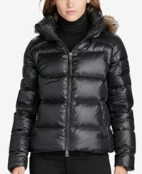 Polo Ralph Lauren Hooded Down Jacket Polo Black