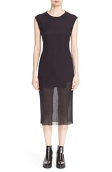 Public School Women's Sheer Crewneck Tank Dress