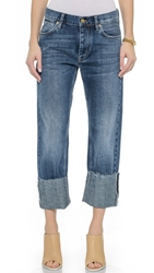 Mih Jeans The Phoebe Bf Jeans High Blue