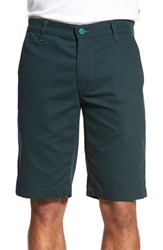 Ag Jeans Men's Ag Green Label 'The Canyon' Flat Front Performance Shorts Scots Pine