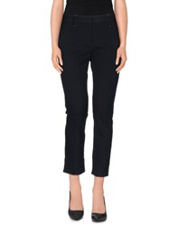 Thinple Trousers 3 4 Length Trousers Women Dark Blue
