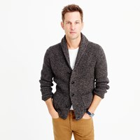 J.Crew Marled Lambswool Cardigan Sweater