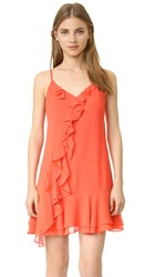 Shoshanna Isadora Dress Coral