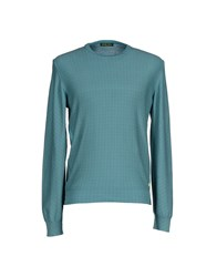 Shockly Knitwear Jumpers Men Turquoise