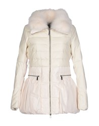 Maliparmi Coats And Jackets Coats Women Ivory
