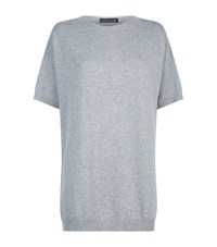 Eileen Fisher Short Sleeve Cashmere Jumper Female Grey