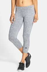 Hurley Dri Fit Crop Leggings Heather Cool Grey