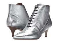 M Missoni Lace Booties Silver