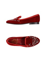 Mp Moccasins Red