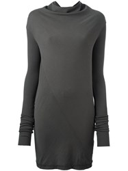 Rick Owens Drkshdw Long Sleeve T Shirt Grey