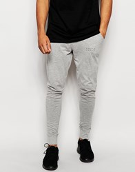 Jack And Jones Jack And Jones Joggers With Cuffed Ankle In Slim Fit Grey