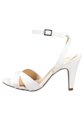 Anna Field High Heeled Sandals White