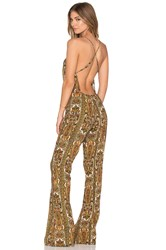 Motel Paulo Jumpsuit Yellow