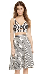 Shakuhachi Directional Stripe Woven Cami Super Stripe