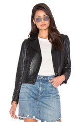 Rag And Bone Mercer Leather Jacket Black