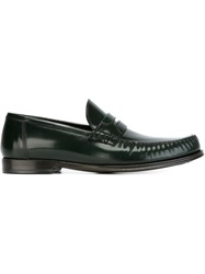 Dolce And Gabbana Classic Penny Loafers Green