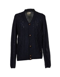 Red Soul Cardigans Dark Blue