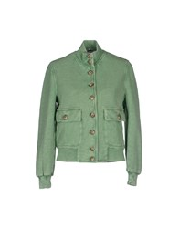 Capobianco Coats And Jackets Jackets Women Light Green