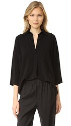 Vince Oversized Blouse Black