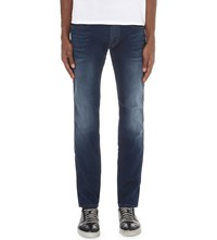 Replay Anbass Slim Fit Skinny Jeans Blue