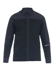 Tim Coppens Poplin And Jersey Shirt