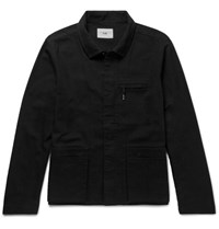 Folk Painters Cotton Twill Jacket Black