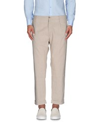 Novemb3r Trousers Casual Trousers Men Beige