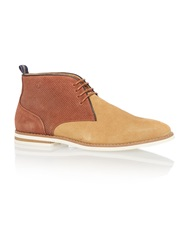 Peter Werth Lace Up Casual Chukka Boots Sand