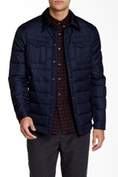 Slate And Stone Quilted Puffer Jacket Blue