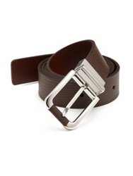 Dunhill Reversible Leather Belt Brown