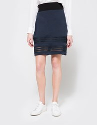 Ganni Rogers Skirt Total Eclipse
