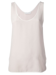 Thakoon Addition Loose Fit Tank Pink And Purple