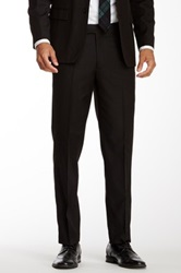 Nicole Miller Solid Black Suit Separates Pant