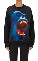 Christopher Kane Women's Monkey Print Sweatshirt Black