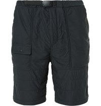 Snow Peak Insulated Shell Shorts Black