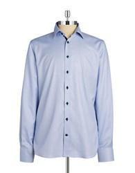 Pure Slim Fit Sportshirt Blue