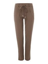 La Fee Maraboutee Trousers Stretch Waist Brown