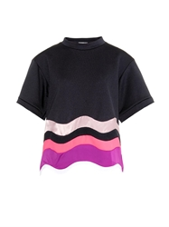 Issa Kelly Colour Block Wave Top