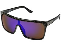 Spy Optic Flynn Spotted Tort Happy Bronze W Purple Spectra Sport Sunglasses Black
