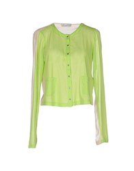 Alysi Knitwear Cardigans Women Acid Green