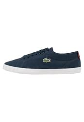 Lacoste Marcel Trainers Dark Blue Red