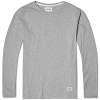 Norse Projects Long Sleeve Niels Basic Tee Light Grey Melange