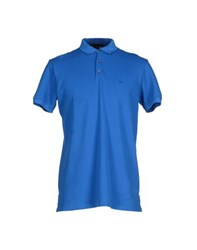 Marc By Marc Jacobs Topwear Polo Shirts Men Bright Blue