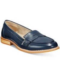 Wanted Campus Penny Loafers Women's Shoes Navy