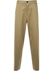 Black Fist Casual Trousers Brown