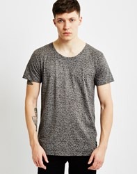 Only And Sons Mens Inside Out Aop T Shirt Grey