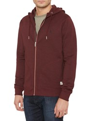 Original Penguin Zipped Hoodie Pomegranate Heather